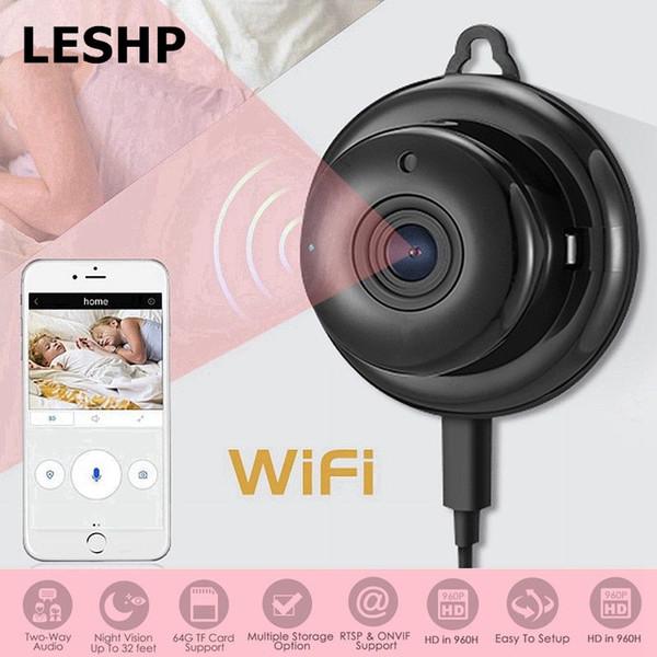 HD 960P Wireless WIFI Camera Smart Mini IP Camera Security Night Vision CCTV Baby Monitor With Mic Speaker Night Vision