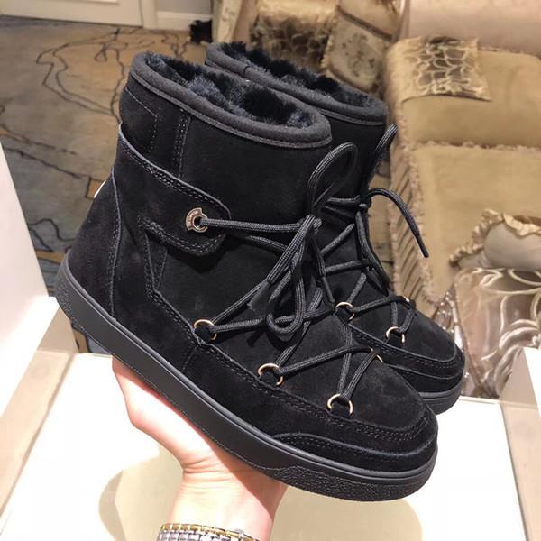 Luxus Designer Damen Stiefel Winterschuhe Australia Classic Schneeschuhe Side Big Bow Stiefel Teenages Ankle Knee Boots Größe 35-41 0816