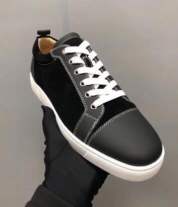Дешевая Продажа Высокого качества Классических низкие кроссовки Red Bottom Мужские плоские туфли Младшие шнурки Открытого Spors тренеры