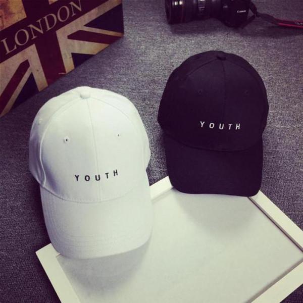 Tasarımcı şapka caps kadın kap Kadın Erkek Yaz Bahar Pamuk Kapaklar beyzbol şapkası şapka Siyah Beyaz Şapka Snapback Kadın Kap 2016