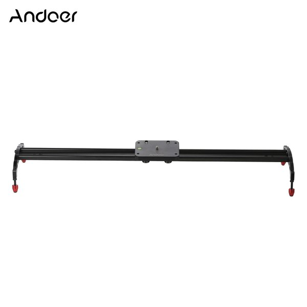 Freeshipping Clearance Sale 100cm Professional Track Dolly Video Slider Sliding Rail Stabilizer for Canon Nikon Sony DSLR Camera