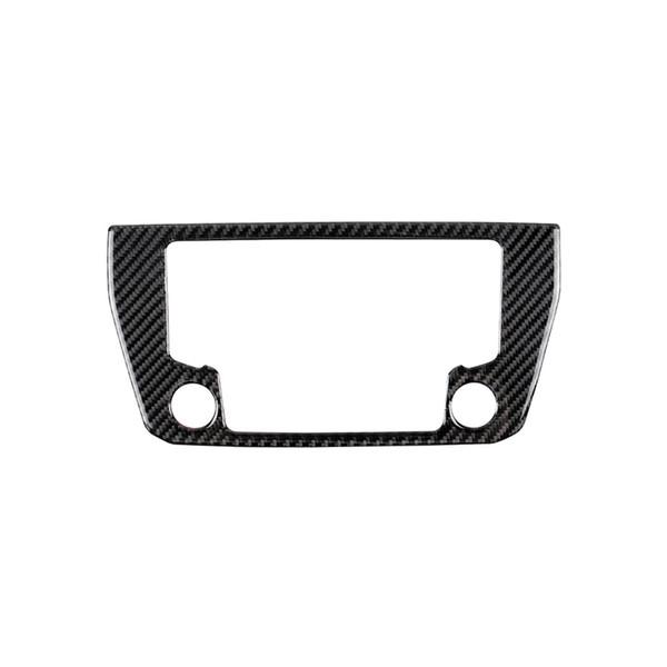 Fibre De Carbone Pour Volkswagen LaVida 2015-2016 Console Centrale Navigator GPS Panneau Cadre En Fiber De Carbone Autocollants Décoratifs Automobile Intérieur