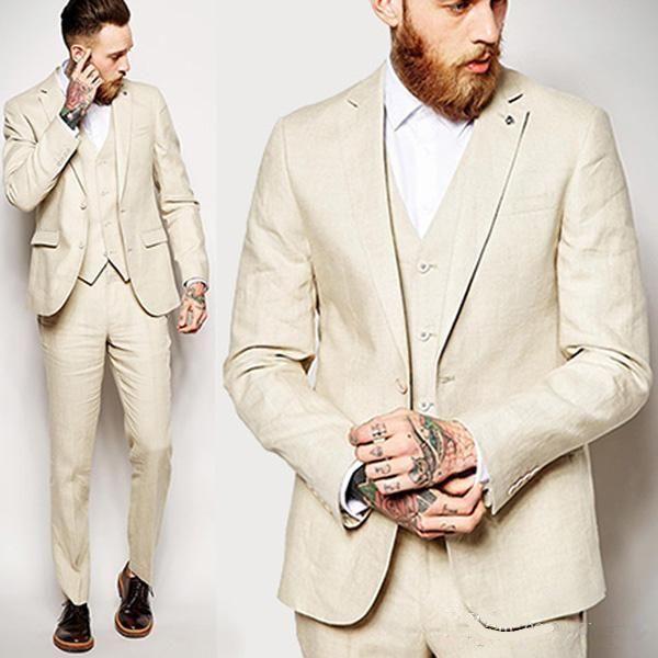 Handsome Groomsmen Wool blend Groom Tuxedos Mens Wedding Dress Man Jacket Blazer Prom Dinner 3 Piece Suit(Jacket+Pants+Tie+Vest) AA116