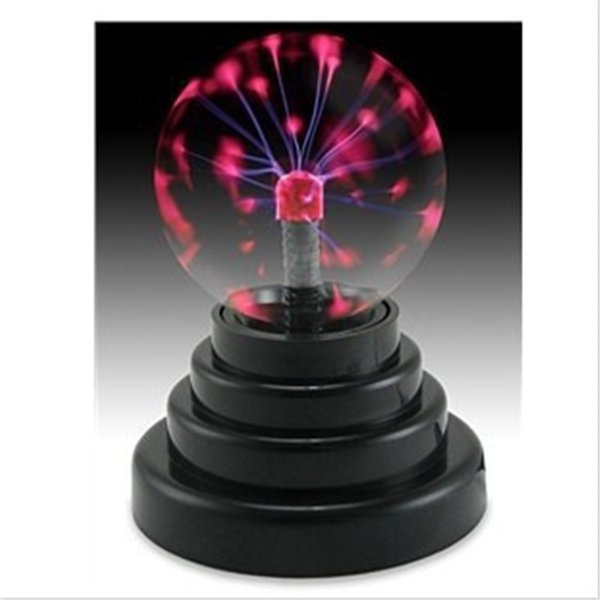 Magic Crystal Plasma Ball Light Lightning Sphere Party USB Operated Electrostatic Induction Balls Kids Toy Party Decoration Children Gift