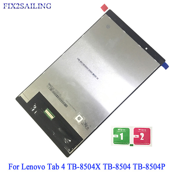 For Lenovo Tab 4 TB-8504X LCD Display Touch Screen Digitizer Assembly For Lenovo Tab 4 TB-8504X TB-8504 TB-8504P Tablet LCD