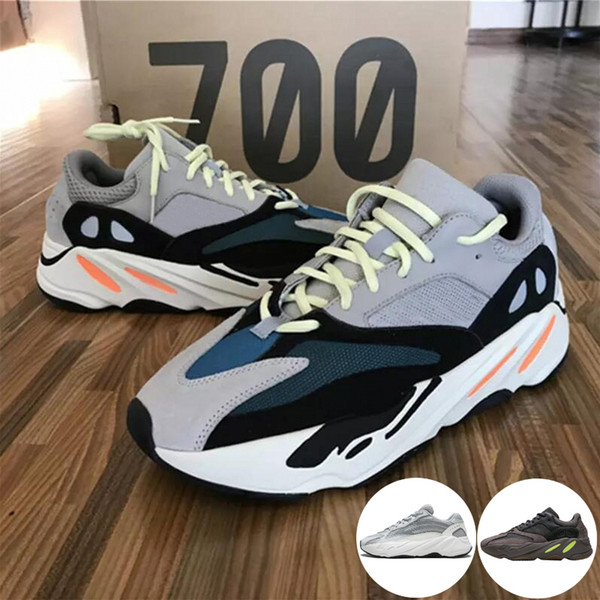 700 Runner 2019 New Kanye West Mauve Wave Mens Women Athletic Best Quality 700s Sports Running Sneakers Designer Shoes With Box