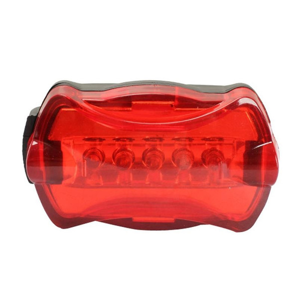 Red Super Bright Bicycle LED Rear Lamp Tail Back Light 6 Flash Modes High Brightness A Level Lamp Head Waterproof #738502