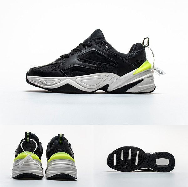 promo code c83cb fb3ed M2K Old Dad Shoes Outdoor Fashion Casual Unisex Breathable Lace Fluorescent  Patch Embroidery Running Shoes Size:36 45 Sneakers Sale Womens Running ...