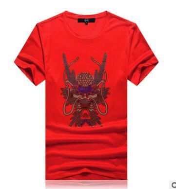 Die Designer-T-Shirts der Männer T-Shirt kleiden bohrendes T-Shirt der Tigerpaare heiße Gezeitenblitzbohrgerätmänner und -frauen verbinden das lose Hemd der großen Größe