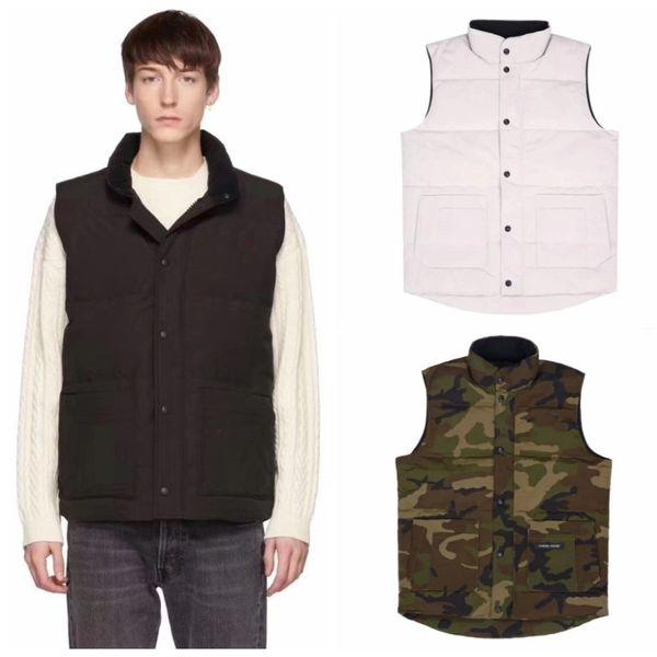 best selling Luxury Vest Down Jacket Men Women Casual Down Coats Canada Winter Jacket Mens Outdoor Warm Parkas Mens Winter Coats