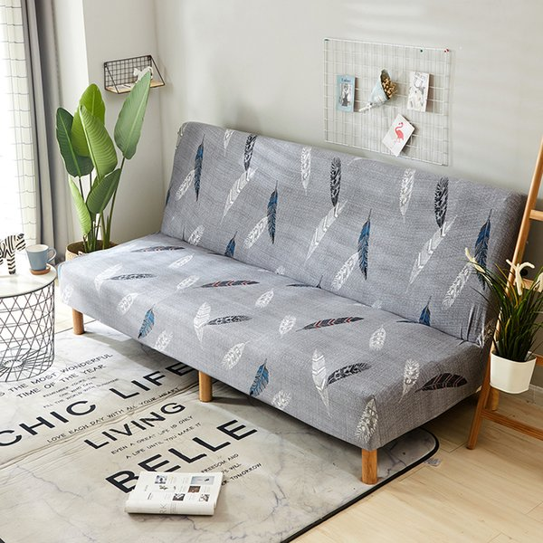 Strange Elastic Spandex Sofa Bed Cover Sectional Stretch Folding Ling Chair Seat Slipcovers Cheap Couch Protector Bench Cover Buy Wedding Chair Covers Folding Machost Co Dining Chair Design Ideas Machostcouk