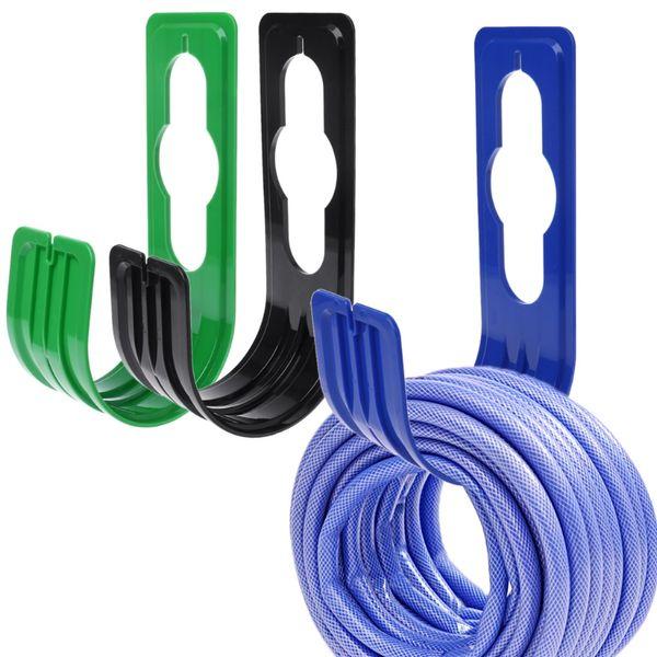 ABS New Garden Yard Hose Pipe Holder Hanger Hosepipe Watering Storage Hook Rack Reel Plastic Pipe Holder