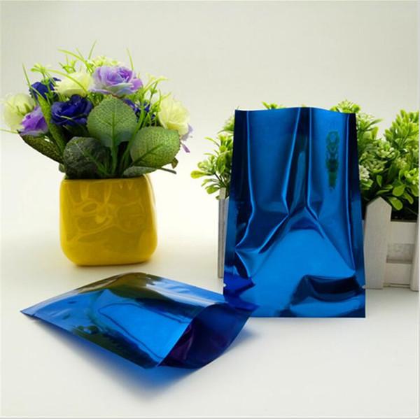Colored Aluminum Foil Flat Bag, 7x10cm 200pcs/lot Mylar Foil Granulated Sugar Storage Ping Pocket Hot Open Sealable, Food Packaging Sack