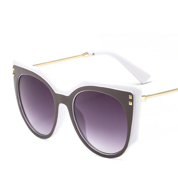 723b683c17b54 2019 mulheres cat eye óculos de sol de luxo da marca de moda gradiente de  óculos de alta qualidade uv óculos de proteção óculos de sol designer de  moda na ...