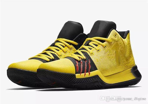 official photos f1fa7 15ded Zapatos para hombre de calidad superior MM Bruce Lee Kobe Amarillo Mamba  Mentalidad Zapatos de baloncesto