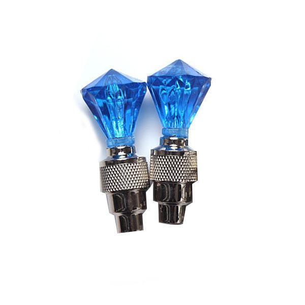 2 teile / los fahrrad speichenlicht fahrradbeleuchtung zubehör fahrrad flash lampe radfahren rad reifen ventil speichenlicht verwendet für sicherheit und warnung