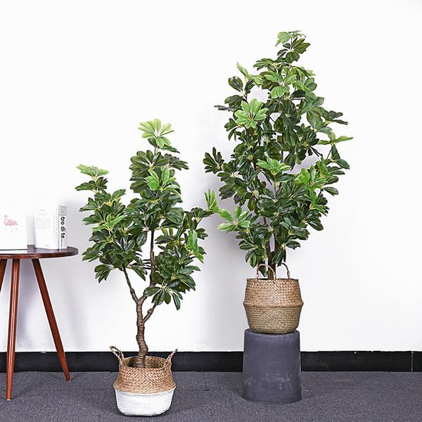 artificiale 130/145 centimetri anatra palma bonsai finto albero verde pianta artificiale per la casa piante finte con piante di casa vaso bonsai