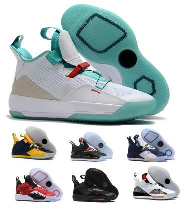 Basketball Shoes Sneakers 33 33s 2019 Mens Yellow Visible Utility Future Flight Guo Goes Ailun Tech Year Of PE Cheap Basket Ball Shoes