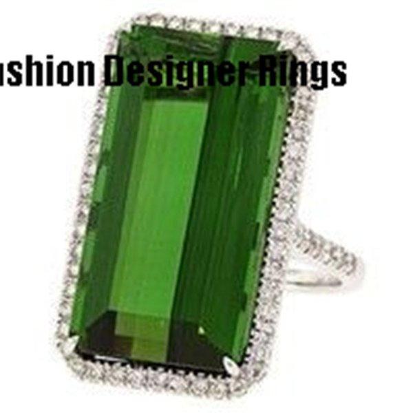 Moda nuevo diseñador de estilo americano europeo mayorista fabricante anillos de joyería de plata hombres hombres baratos óvalo verde