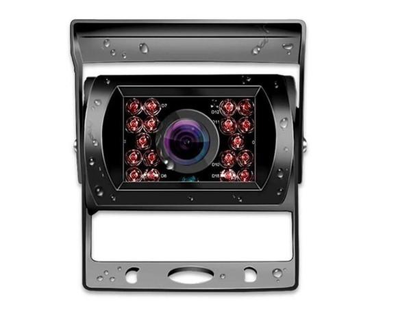 12V / 24V automatique Vue arrière 360 degrés de rotation Grand angle 18 Vision LED nuit Voir IP68 étanche arrière de voiture caméra de stationnement HD pour camion BUS