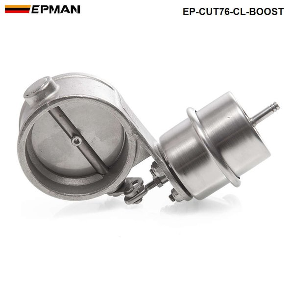 best selling EPMAN High-performance NEW Boost Activated Exhaust Cutout   Dump 76MM CLOSED Style Pressure: about 1 BAR EP-CUT76-CL-BOOST