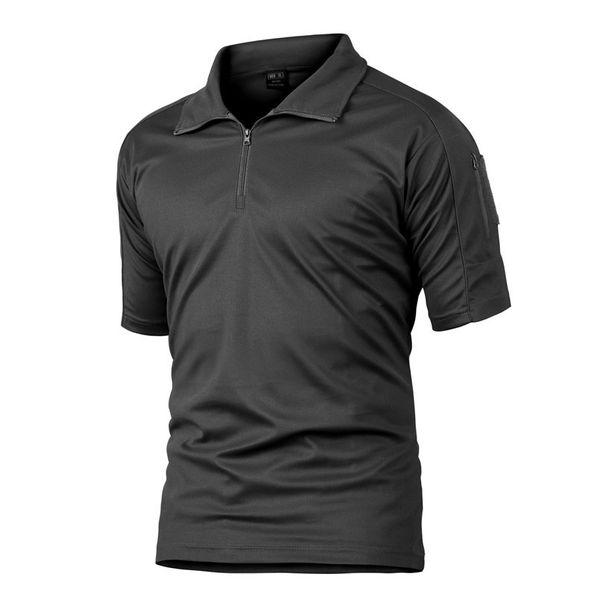 Coolmax Tactical Hiking Climbing Fishing Short Sleeve T-Shirts Men Summer Quick Dry Sports Tees Soldiers Uniform