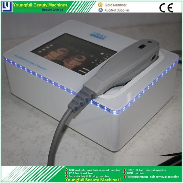 Hifu portátil de Alta Intensidade Focada Ultrasonido Hifu rosto elevador do corpo hifu remoção do enrugamento beleza máquina de endurecimento da pele 5 cartucho