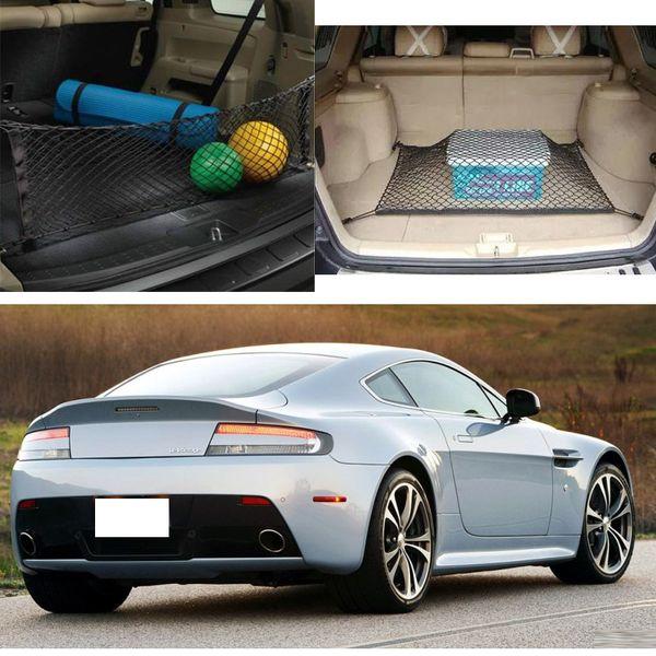 2x Для Aston Martin V12 Vantage Легковой автомобиль. Черный задний багажник. Багажный багажник.