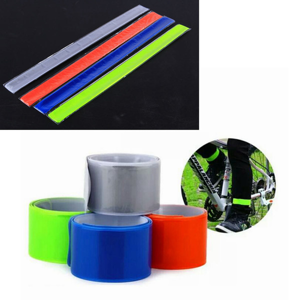 best selling Four Colors Pratical MTB Road Bike Bicycle Cycling Reflective Safety Pant Band Leg Strap Belt Cycling Accessories ZZA828