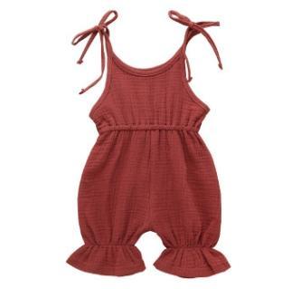 # 6 macacão de bebê de cores sólidas