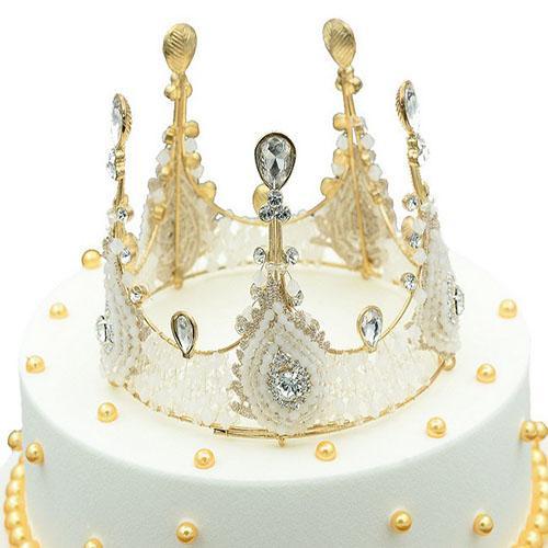 Свадебные хрустальные тиары корона горный хрусталь расчески для волос ювелирные изделия хрустальная королева принцесса диадема свадебные круглые короны для волос