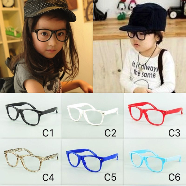 best selling Kids Glasses Frame Top Selling Classical Children Beach Sunglasses Frame 12 Candy Colors Frame Without Lenses 20pcs Lot