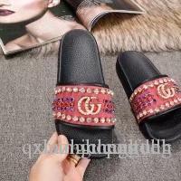2019 sandálias sapatos de grifeLouisVuittonEscorregadio liso com sandálias grossas s1 chinelosAAAGUCCILV