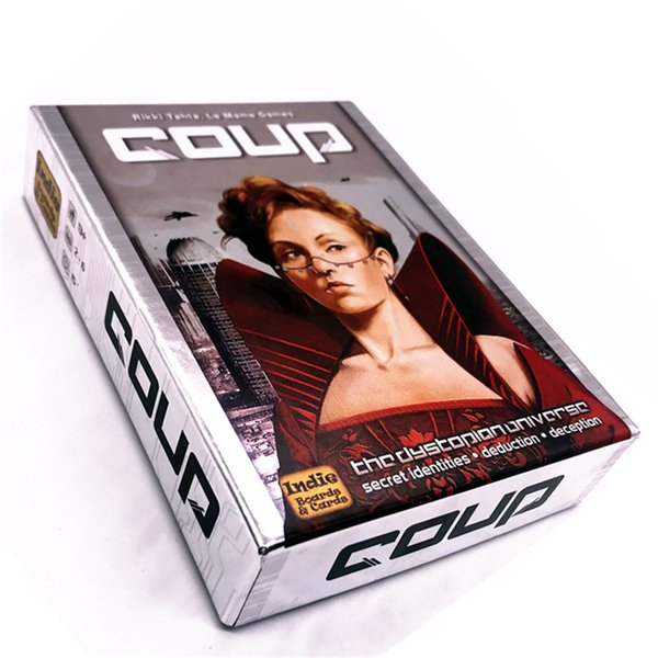 COUP Card Game Classic Family Party Entertainment Game Toy for Boys Girls Gift With Full English Version