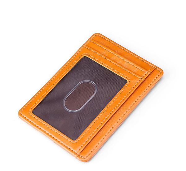 Excelente Calidad Organizador de Bolsillo NM damier rojo hombres y mujeres de cuero Real carteras pasaporte titular de la tarjeta N63144 bolso monedero de identificación bolsas bifold