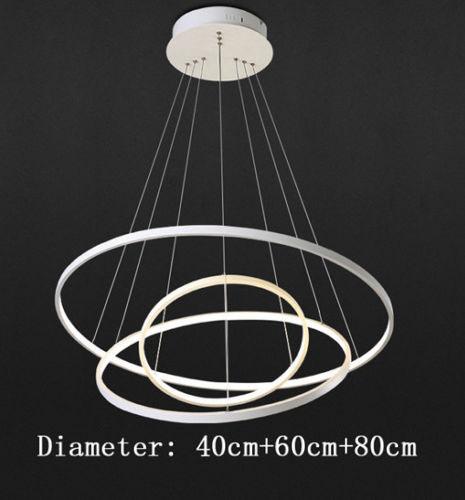 3 Anéis Diâmetro 40cm + 60cm + 80cm