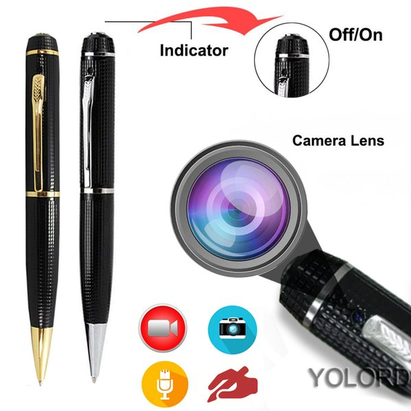NEW HD 1080P Mini USB DV Writing Write Pen HD Camera Camcorder Cam Video Voice Audio Photo Recorder Sound Recording Portable