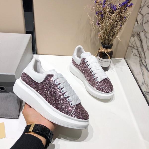 Designer de luxe en cuir blanc casual chaussures fille femmes hommes noir or rouge rose fashion confortable baskets plates xrx19040904