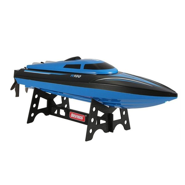 Skytech H100 2.4G RC Boat Remote Controlled 180 Degree Flip 26-28KM/H High Speed Electric Submarine Racing RC Boat