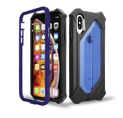 NUEVA MODA para iPhone 6s Plus 7 8 X XS Max XR Stong Funda protectora a prueba de golpes para teléfono 4 Coners Robot Defender para Samsung Note 10 Pro S10