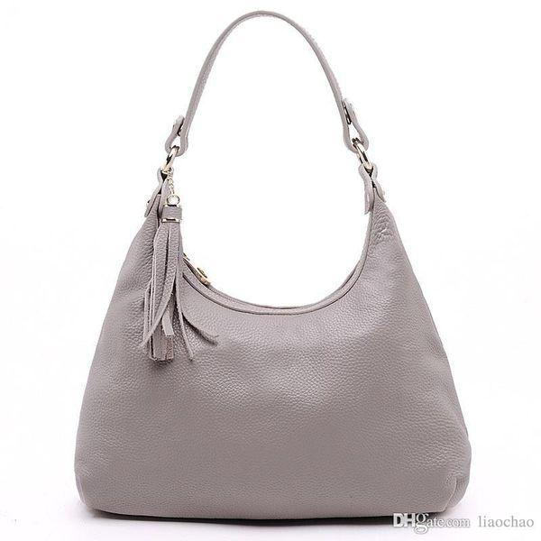 Hohe Qualität Marke Handtaschen aus echtem Leder Totes Für Damen 2017 Neue Ankunft Fasahion Umhängetasche