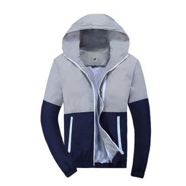 Marque de haute qualité à manches longues New Designer Mens Fashion vrac coupe-vent et des couleurs naturelles Mode Casual avec Taille S-3XL B100137Q 2019