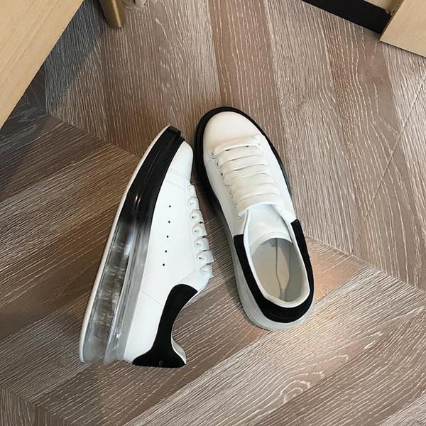 2019 New Designer de Luxo almofada de ar dos homens e das mulheres calçados casuais melhor qualidade Moda Esportes sapatos de plataforma Party Dress Sapatilha
