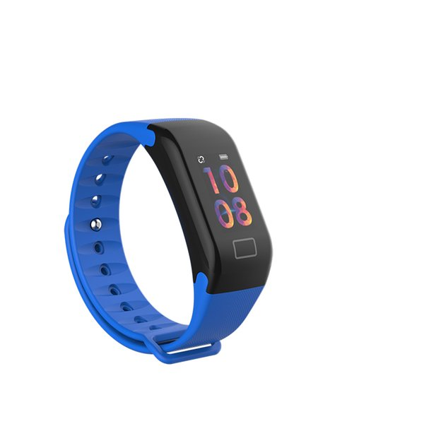 0.96inch Color Screen F1 smart watch smart bracelet wristband fitness tracker bluetooth Health Fitness Smart Band for Android ios