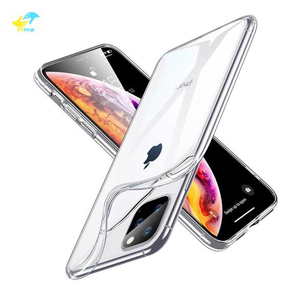 Ca e for iphone 11 pro max x xr x max tran parent cover bumper clear tpu ca e ultra thin cover ca e for am ung note9