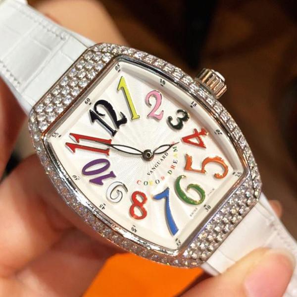 Vente chaude couleur rêves montre de luxe unique Soleil gravant en relief Cadran Montre-bracelet femmes montres cadeau préféré Orologio di Lusso dame exclusive