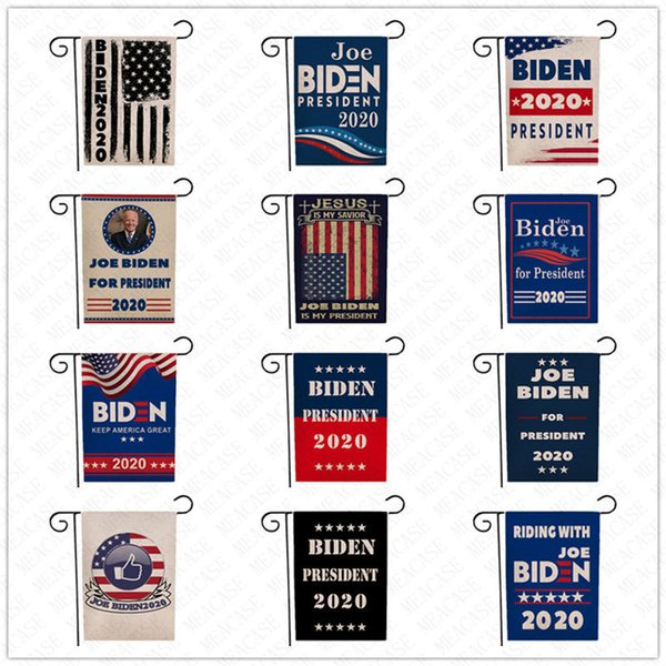 best selling Joe Biden Flag Garden Flags 2020 Hot RIDING WITH JOE Banner America President Presidential Political Campaign Voting Election Flags D62902