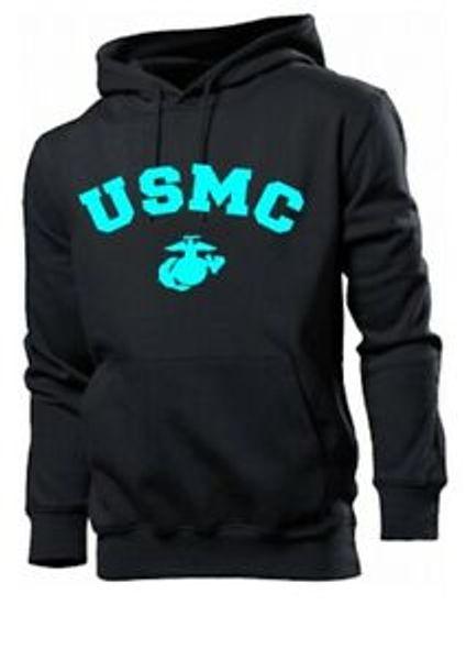 Hoody USMC Insignia Kapuzenpullover US Army Marines Navy Vietnam wk2 WWII Seals
