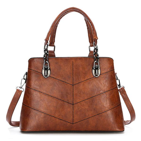 Boa qualidade Bolsas de Marca Mulheres Saco Designer Top-handle Bags Cadeias Bolsas De Couro Das Mulheres Sacos de Ombro Feminino Sac A Principal