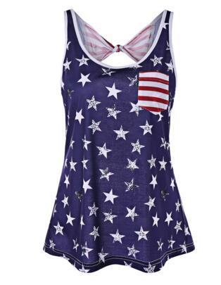 Flag Bikini blue